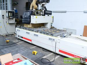 cnc stroji morbidelli author 600 kl