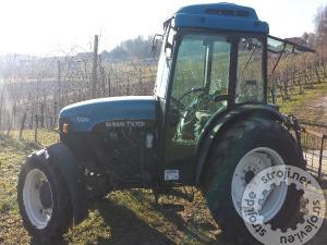traktorji new holland tn 75 f