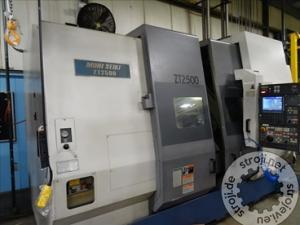 struznice mori seiki zt2500y 4 axis twin spindle