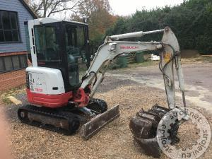 mini bagri takeuchi tb 23rx