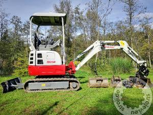 mini bagri takeuchi tb215r
