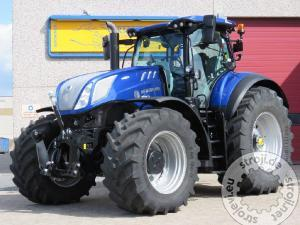 traktorji new holland t7315ac tmr blue power fronthydraulik luft